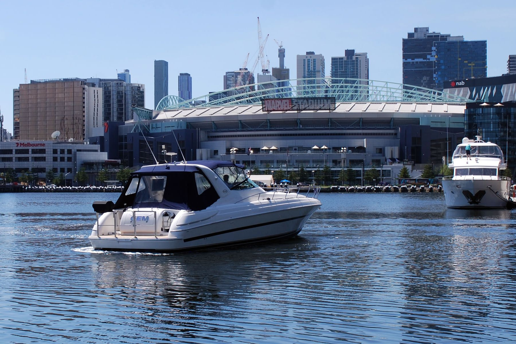 Melbourne Boat Sales located in Docklands