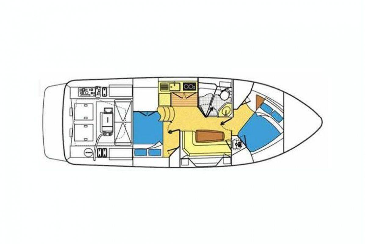 Riviera M370 Sports Cruiser 2005 19