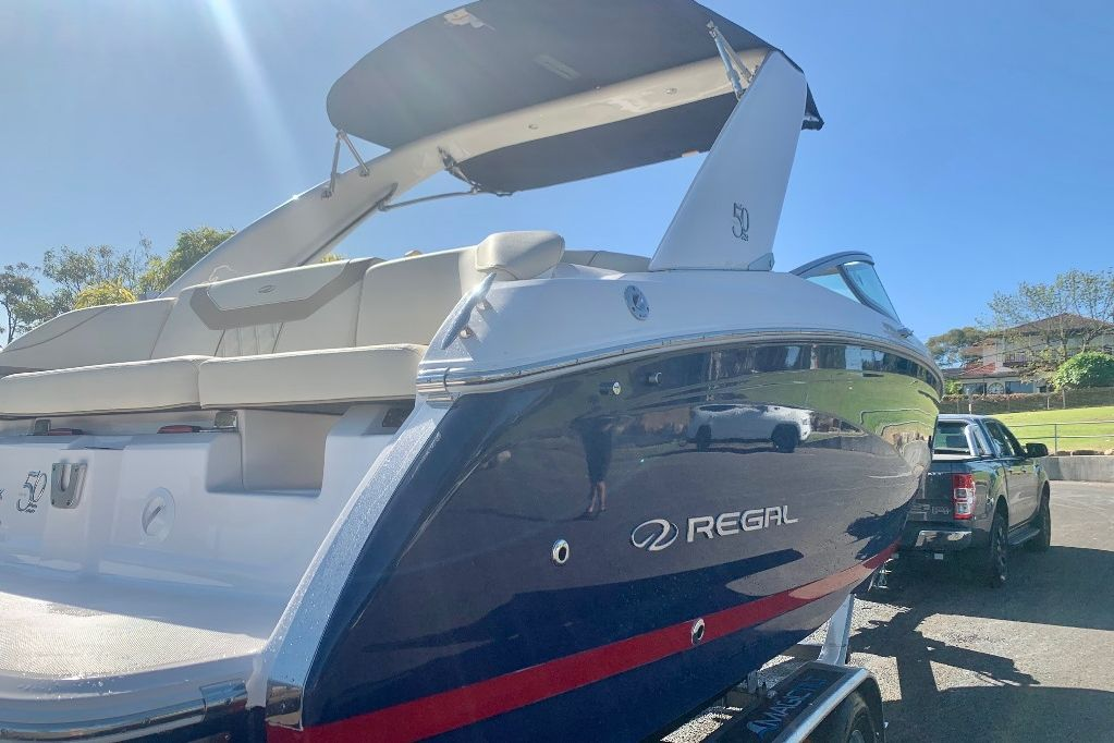 Regal 22 Fasdeck Navy 10