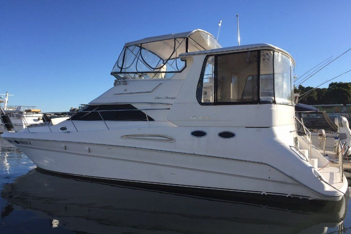 Sea Ray 420 Aft Cabin 2001 03