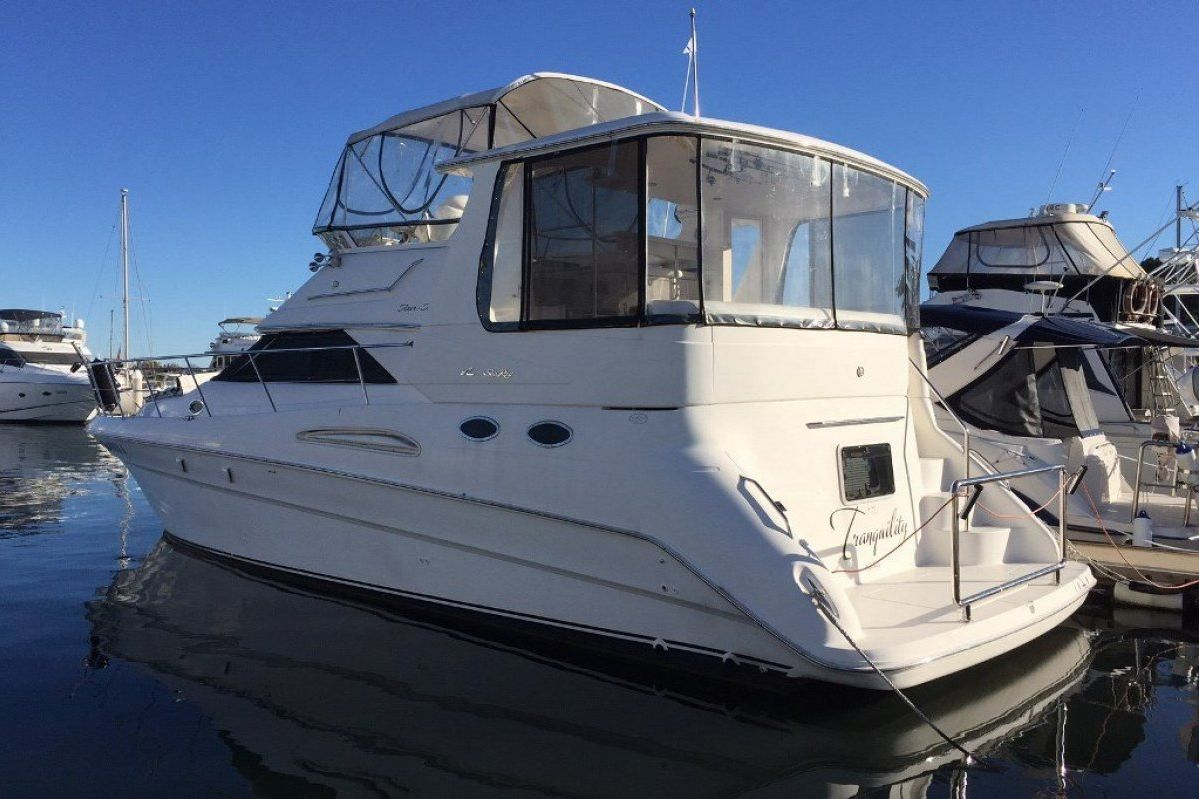 Sea Ray 420 Aft Cabin 2001 13